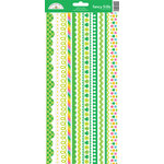 Doodlebug Design - Pot O Gold Collection - Cardstock Stickers - Fancy Frills
