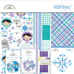 Doodlebug Design - Polar Pals Collection - Essentials Kit