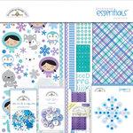Doodlebug Design - Polar Pals Collection - Essentials Kit