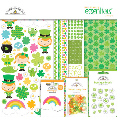 Doodlebug Design - Pot O Gold Collection - Essentials Kit