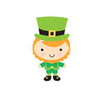 Doodlebug Design - Pot O Gold Collection - Cardstock Stickers - Sweet Rolls - Mini Icons - Leprechaun