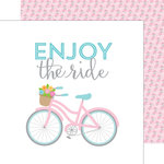 Doodlebug Design - Spring Garden Collection - 12 x 12 Double Sided Paper - Joy Ride