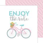 Doodlebug Design - Spring Garden Collection - 12 x 12 Double Sided Paper - Joy Ride