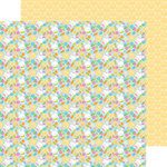 Doodlebug Design - Bunnyville Collection - 12 x 12 Double Sided Paper - Bunny and Co