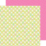 Doodlebug Design - Bunnyville Collection - 12 x 12 Double Sided Paper - Easter Bunnies