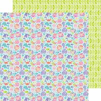 Doodlebug Design - Under the Sea Collection - 12 x 12 Double Sided Paper - Under the Sea