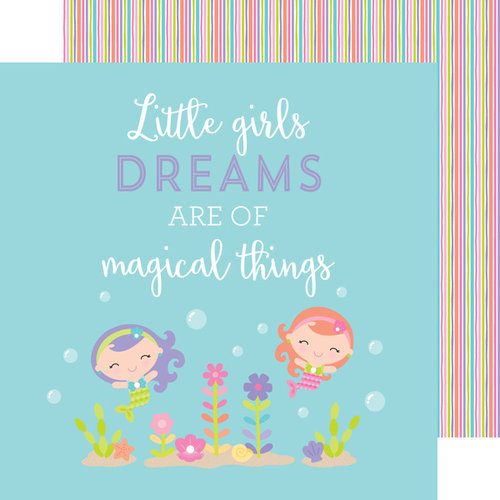 Doodlebug Design - Under the Sea Collection - 12 x 12 Double Sided Paper - Magical Things