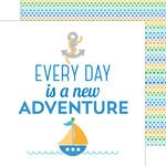 Doodlebug Design - Anchors Aweigh Collection - 12 x 12 Double Sided Paper - New Adventure