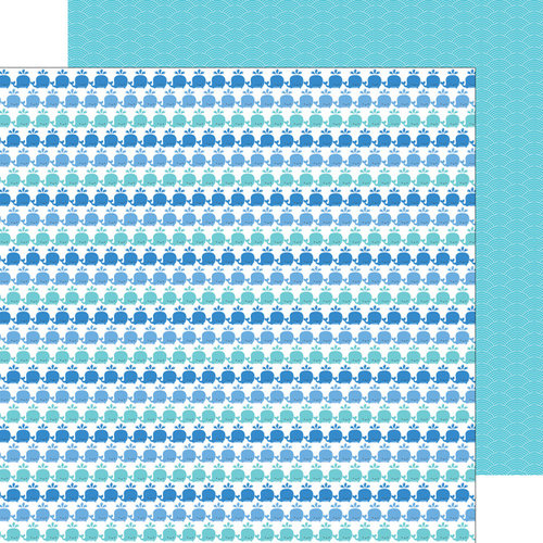 Doodlebug Design - Anchors Aweigh Collection - 12 x 12 Double Sided Paper - Tons of Fun