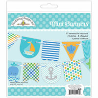 Doodlebug Design - Anchors Aweigh Collection - Craft Kit - Mini Banners