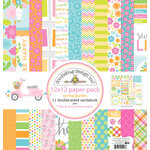 Doodlebug Design - Spring Garden Collection - 12 x 12 Paper Pack