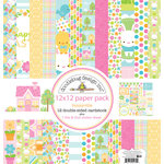 Doodlebug Design - Bunnyville Collection - 12 x 12 Paper Pack