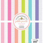 Doodlebug Design - Under the Sea Collection - 12 x 12 Paper Pack - Swiss Dot Petite Print Assortment