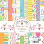 Doodlebug Design - Spring Garden Collection - 6 x 6 Paper Pad