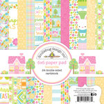 Doodlebug Design - Bunnyville Collection - 6 x 6 Paper Pad