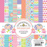 Doodlebug Design - Under the Sea Collection - 6 x 6 Paper Pad