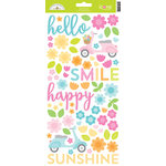 Doodlebug Design - Spring Garden Collection - Cardstock Stickers - Icons