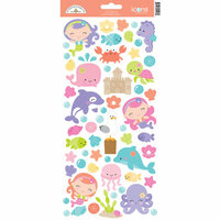 Doodlebug Design - Under the Sea Collection - Cardstock Stickers - Icons