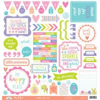 Doodlebug Design - Under the Sea Collection - 12 x 12 Cardstock Stickers - This and That