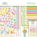 Doodlebug Design - Spring Garden Collection - Essentials Kit