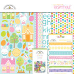 Doodlebug Design - Bunnyville Collection - Essentials Kit