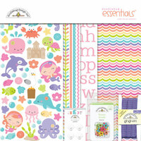 Doodlebug Design - Under the Sea Collection - Essentials Kit