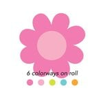 Doodlebug Design - Spring Garden Collection - Cardstock Stickers - Sweet Rolls - Mini Icons - Blossoms