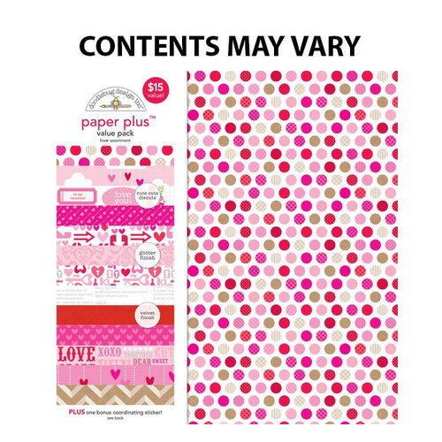Doodlebug Design - Paper Plus Value Pack -Love