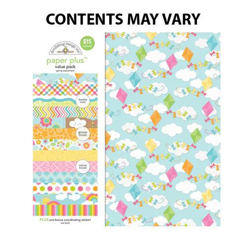 Doodlebug Design - Paper Plus Value Pack - Spring