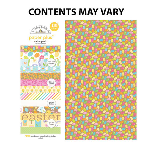 Doodlebug Design - Paper Plus Value Pack -Easter
