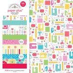 Doodlebug Design - Paper Plus Value Pack - Girl