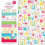 Doodlebug Design - Paper Plus Value Pack -Girl