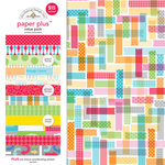 Doodlebug Design - Paper Plus Value Pack - Primary