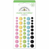Doodlebug Design - Kitten Smitten Collection - Matte Sprinkles - Self Adhesive Enamel Dots - Cat Assortment