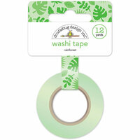 Doodlebug Design - At the Zoo Collection - Washi Tape - Rainforest