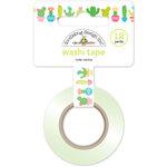 Doodlebug Design - Fun in the Sun Collection - Washi Tape - Cute Cactus
