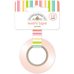Doodlebug Design - Fun in the Sun Collection - Washi Tape - Tutti Frutti Stripe