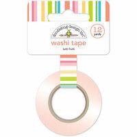 Doodlebug Design - Fun in the Sun Collection - Washi Tape - Tutti Frutti Stripe