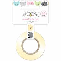 Doodlebug Design - Kitten Smitten Collection - Washi Tape - Here Kitty Kitty