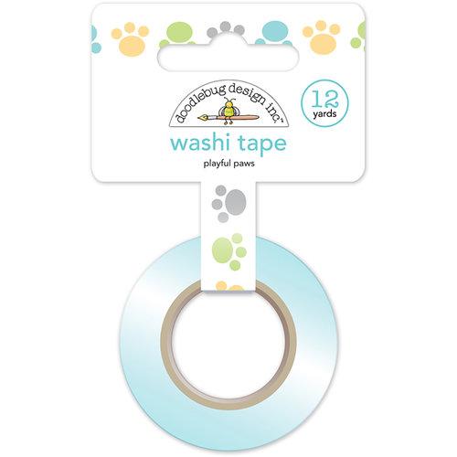 Doodlebug Design - Kitten Smitten Collection - Washi Tape - Playful Paws