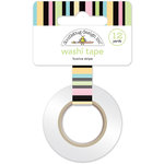 Doodlebug Design - Kitten Smitten Collection - Washi Tape - Licorice Stripe