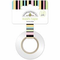 Doodlebug Design - Kitten Smitten Collection - Washi Tape - Licorice Stripe