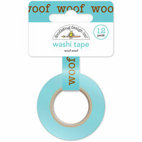 Doodlebug Design - Puppy Love Collection - Washi Tape - Woof Woof