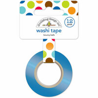 Doodlebug Design - Puppy Love Collection - Washi Tape - Bouncy Balls