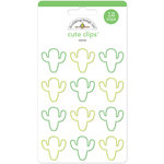 Doodlebug Design - Fun in the Sun Collection - Cute Clips - Cactus