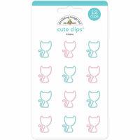 Doodlebug Design - Kitten Smitten Collection - Cute Clips - Kittens