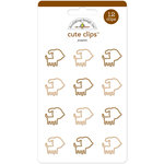 Doodlebug Design - Puppy Love Collection - Cute Clips - Puppies