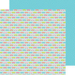 Doodlebug Design - Fun in the Sun Collection - 12 x 12 Double Sided Paper - Caravan