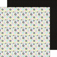 Doodlebug Design - Kitten Smitten Collection - 12 x 12 Double Sided Paper - Pastel Posies