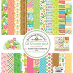 Doodlebug Design - Fun in the Sun Collection - 12 x 12 Paper Pack
